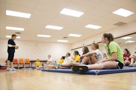 Freshmen Five encourages healthy lifestyle