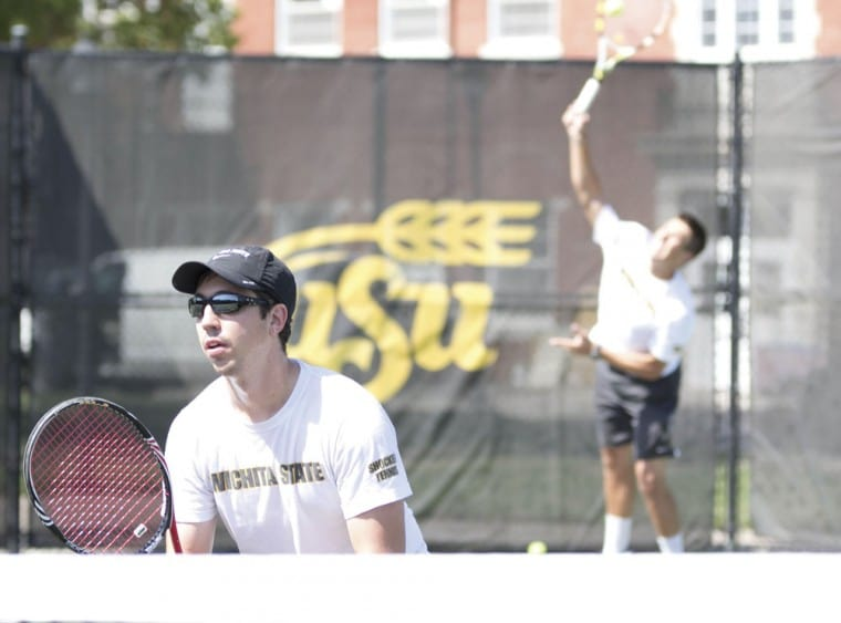 Men%27s+tennis+set+up+practice+to+prepare+for+the+upcoming+in+state+and+out+of+state+games+to+represent+WSU.%0A