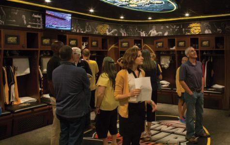 Open house shows off new men's locker room