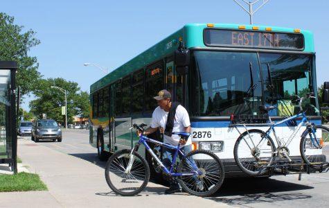 Wichita public transit adds bus stops to campus
