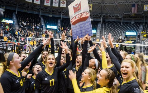 Shocker volleyball clenches conference title