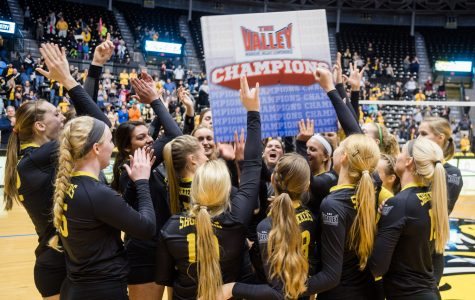 Volleyball takes MVC tournament, advances to NCAA competition