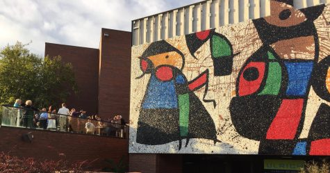 Migration's end: Joan Miró's 'Bird People' mosaic nears completed restoration