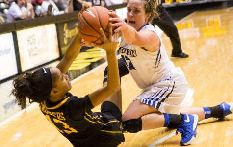PHOTOS: Women's basketball surprise upset against Creighton