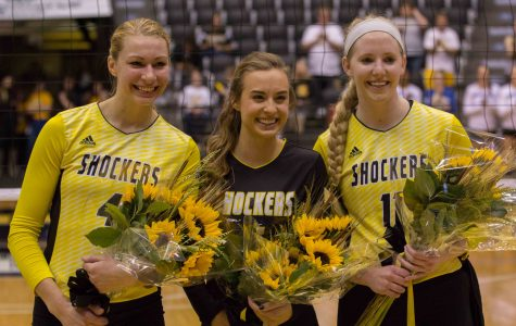 PHOTOS: Wichita State volleyball senior night
