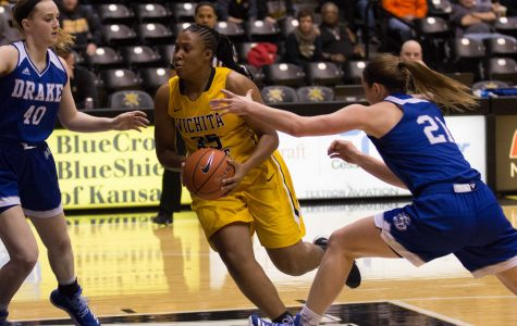 Bessard's career-high not enough to lift Shockers past Drake