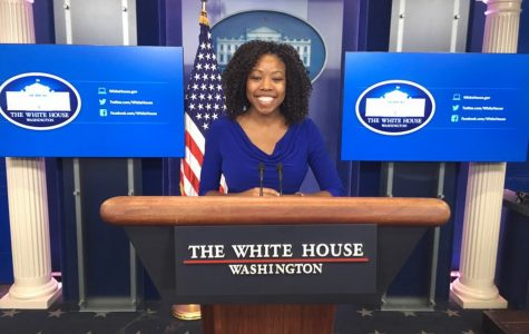 Student spends semester interning for Michelle Obama's office