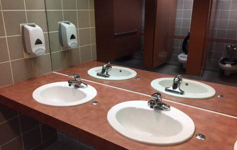 Soap dispensers dry in Elliott