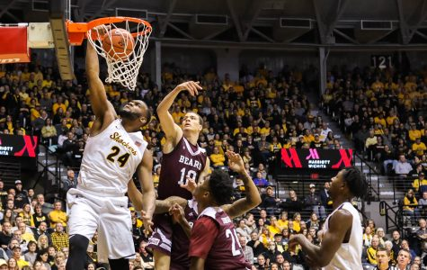 Shockers shoot platoons at the Bears in blowout victory