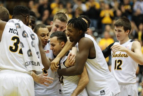 PHOTOS: Wichita State soars ahead of game with Dayton Flyers