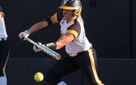 Shockers score five runs in sixth inning to defeat Nebraska