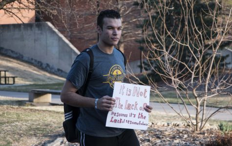 Students protest student fees increase for YMCA