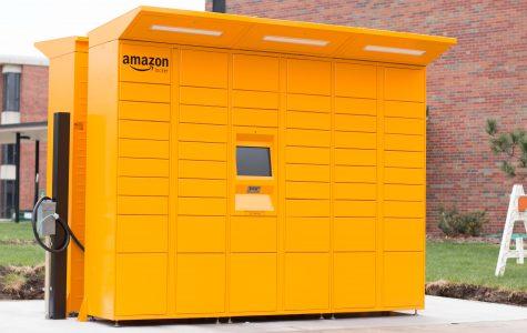 Amazon Lockers come to Wichita State