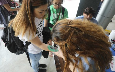 Students go 'A Day Without Shoes' to raise awareness of less fortunate