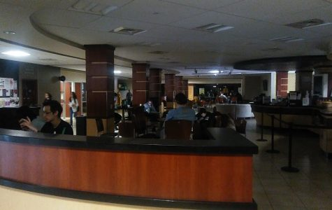 Power outage hits campus