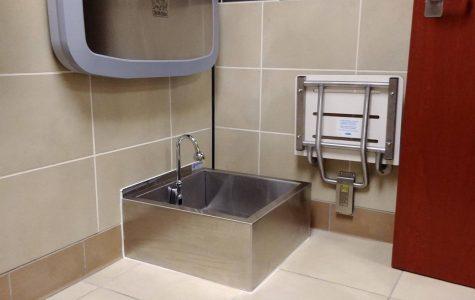 Wash station installed in RSC