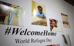 Art show rallies community around refugees