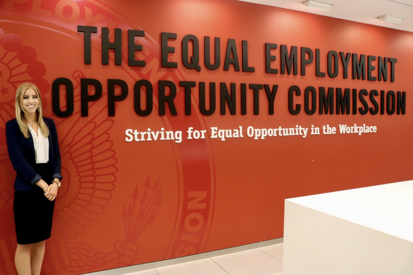 WSU alumna interns at the EEOC, researches economics of workplace discrimination