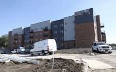 Lease numbers flat for new private apartment complex, university steps in