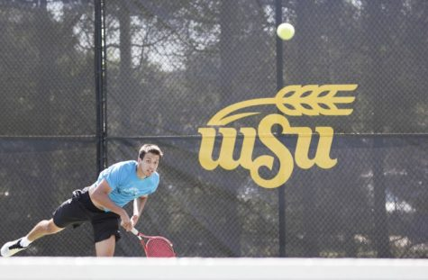 Men's tennis duo takes doubles title in opener