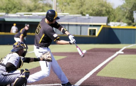 WSU baseball plays scrimage in Eck Stadium Tuesday to prepare for the Fall World Series.