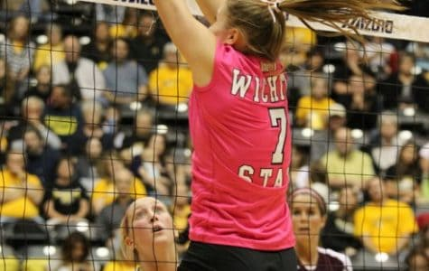 Shockers defeat Missouri State, Field matches career high