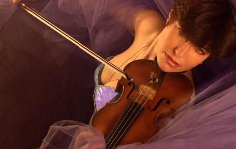 Grammy-nominated violinist inspires at WSU