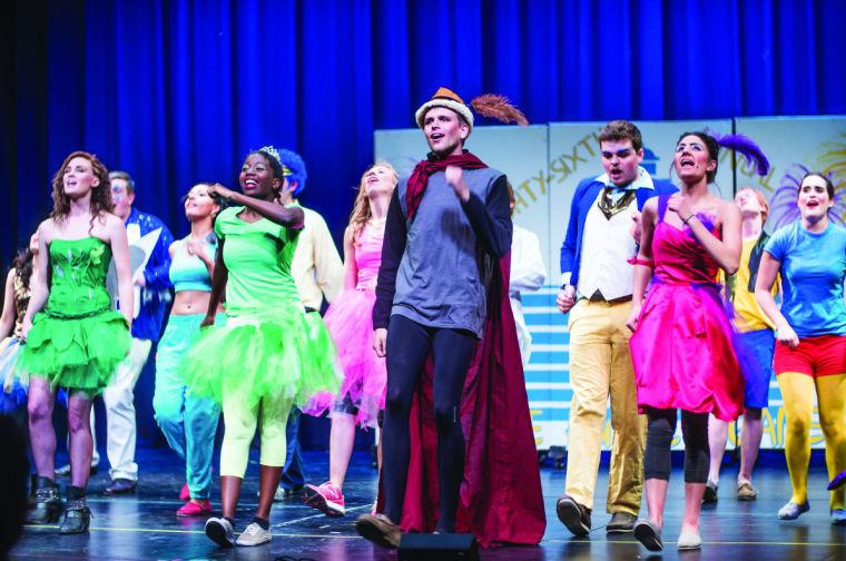 Kappa Kappa Gamma Delta Upsilon performs during Hippodrome Wednesday evening inside the CAC theater. This years Hippodrome featured a Disney-inspired theme.