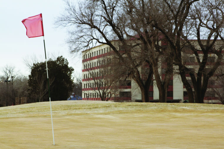 Say+goodbye+to+Wheatshocker+and+part+of+the+Wichita+State+golf+course.+They+will+be+making+way+for+future+campus+buildings.