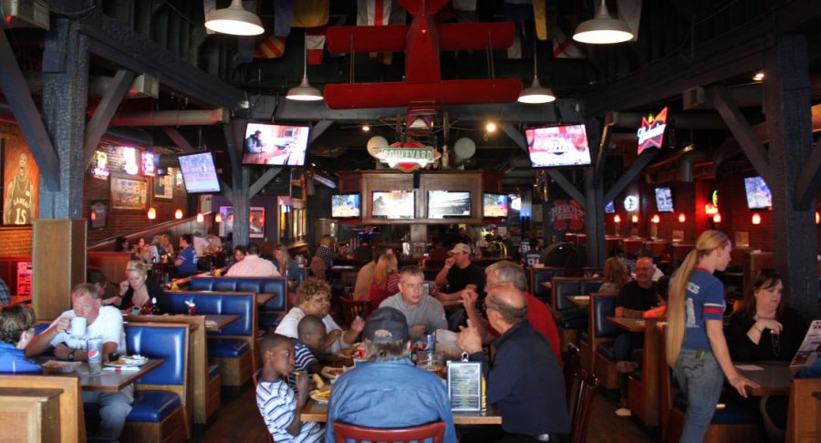 Heroes Sports Bar and Grill is located in the heart of Wichita right behind the museum in Old Town. With everything beer, TVs and a mechanical bull one would be hard pressed to not have a good time.