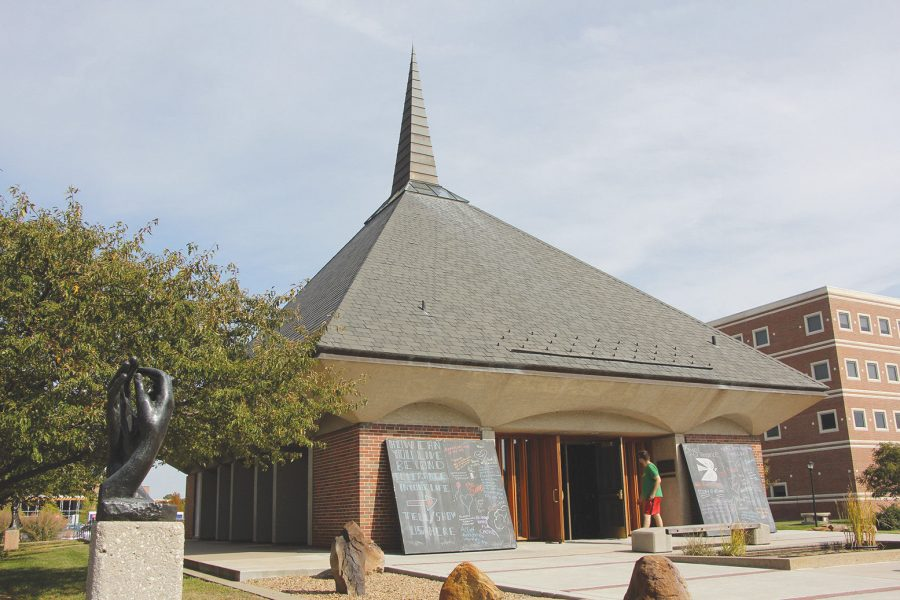 Westboro Baptist Church is expected to protest at Wichita State on Friday because of the universitys inclusion efforts, including the Grace Memorial Chapel.