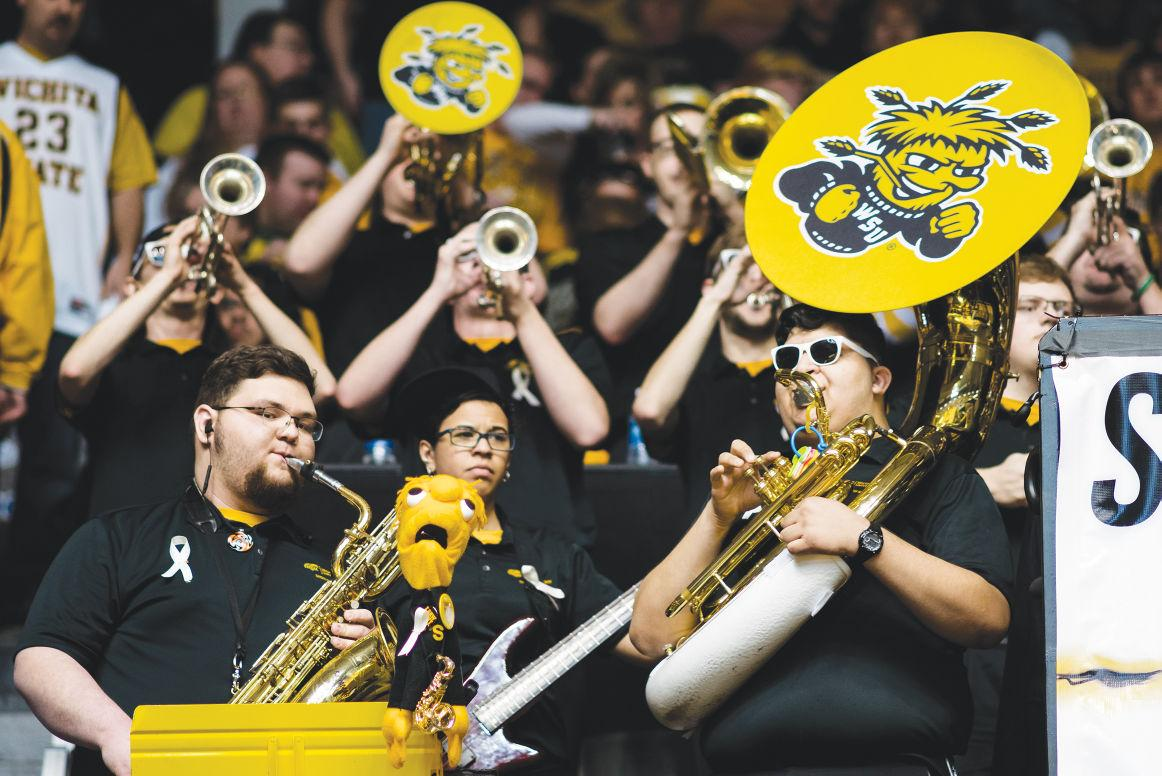 Shocker Sound performs Feb. 27 at Charles Koch Arena.