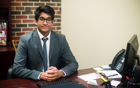 Talking with Taben: SGA vice-president details typical day
