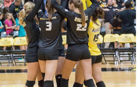Volleyball opens conference play at Missouri State