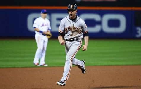 Former Shocker sends Giants into NLDS