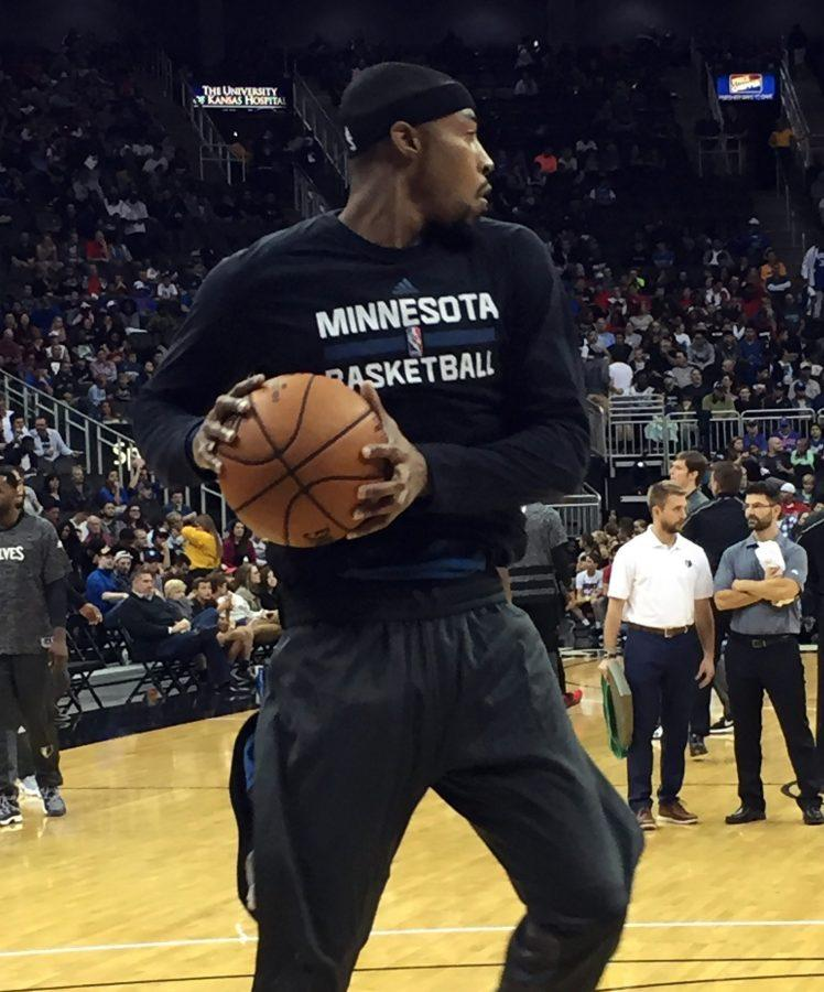 Toure Murry, a former WSU guard, now plays for the Minnesota Timberwolves.