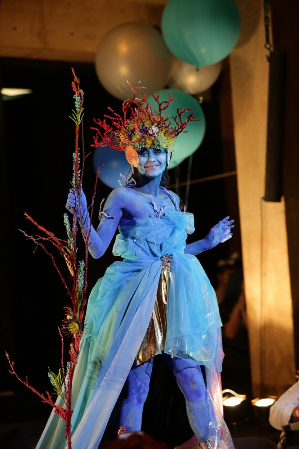 Project Run-a-Way consisted of wearable art created by WSU students, alumni and area high school students.