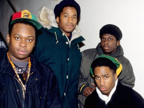 Courtesy photo. From left to right, Jarobi White, Q-Tip, Ali Shaheed Muhammad and Phife Dawg.