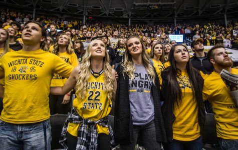 Old timers and newcomers: Shocker fans travel to Arch Madness