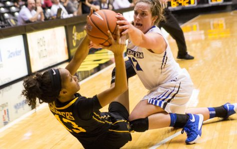 Shockers fight for win in contested season opener
