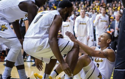 'Doing the Evan Wessel-type things': Rashard Kelly is Wichita State's energy guy