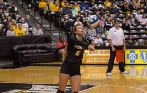 Career-high's from Hiebert, Mostrom send volleyball into MVC championship