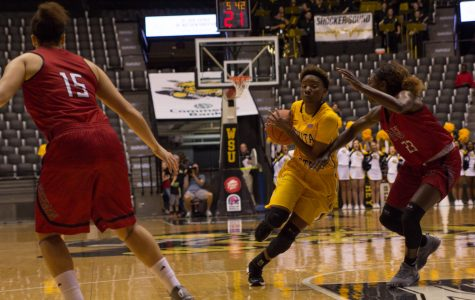 Shockers end losing streak with win over Northeastern