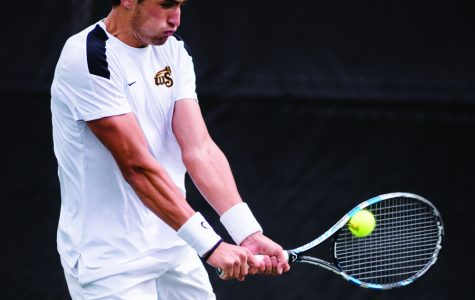 Men's tennis emerges as competitors in professional tournament