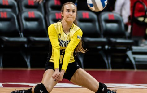 PHOTOS: Shocker volleyball fall to TCU in four sets