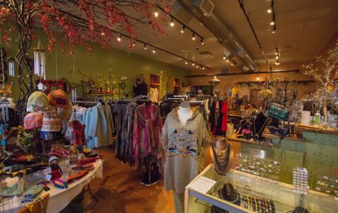 On top of clothing, Lucinda's carries jewelry, shoes, and other accessories.