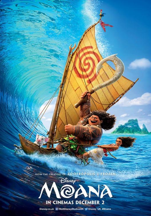 Beach: Moana fun animated film for all ages