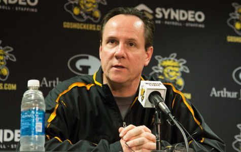 Gregg Marshall speaks to media after the MVC released all-conference teams.