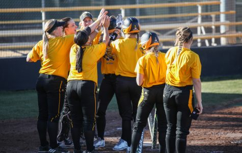 Softball begins season in Houston