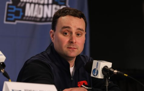 Arizona head coach Sean Miller doesn't have advice for Dayton's Archie Miller in planning for Wichita State